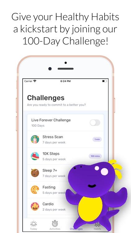 Healthzilla: Healthy Habits screenshot-3