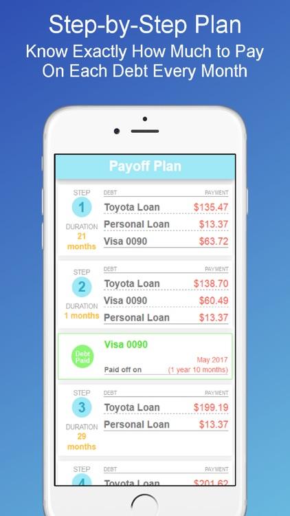 Debt Payoff Planner & Tracker screenshot-0