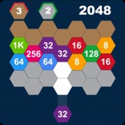 Hexa Attack 2048:Shoot n Merge