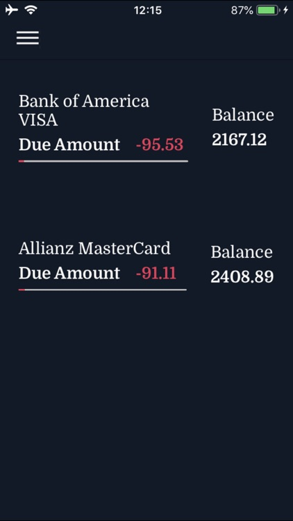 Credit Card Expenses Manager screenshot-5
