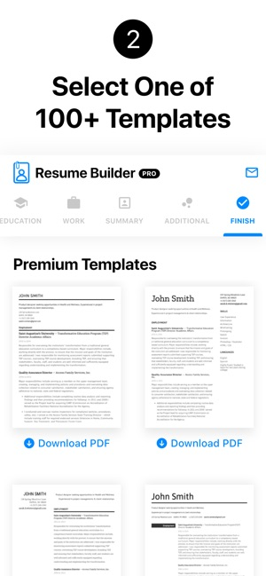Resume Builder Professional On The App Store