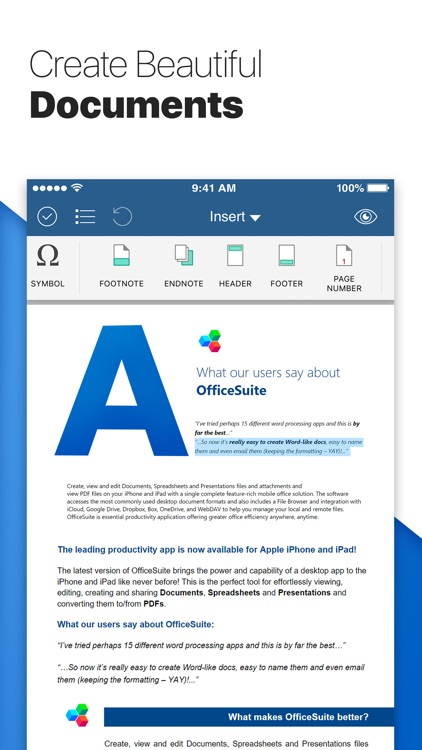 OfficeSuite & PDF editor screenshot-1