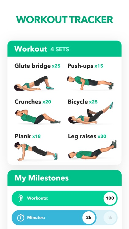 Home Fitness Workout by GetFit screenshot-0