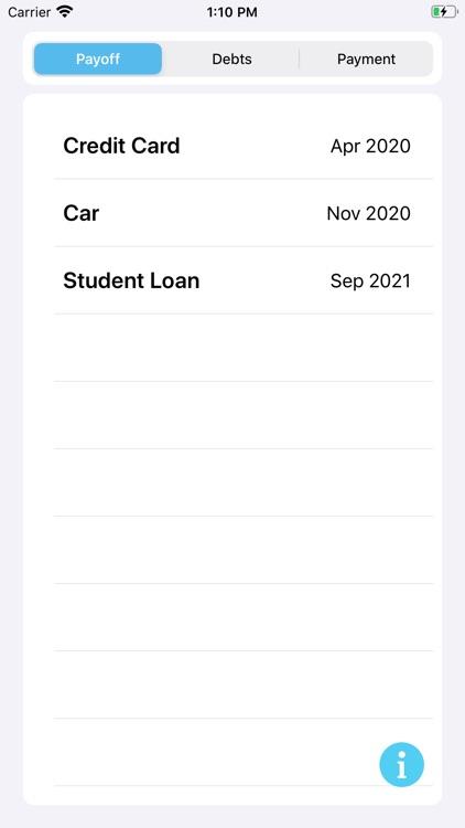 My Debt Snowball