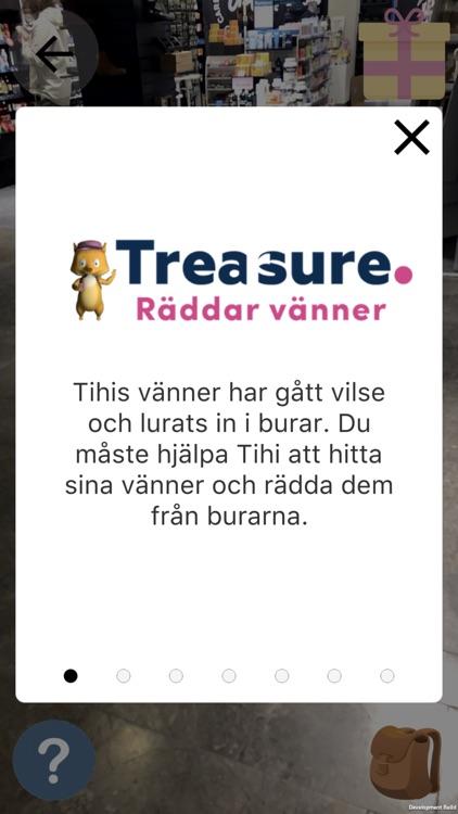 Treasure Hunts in AR