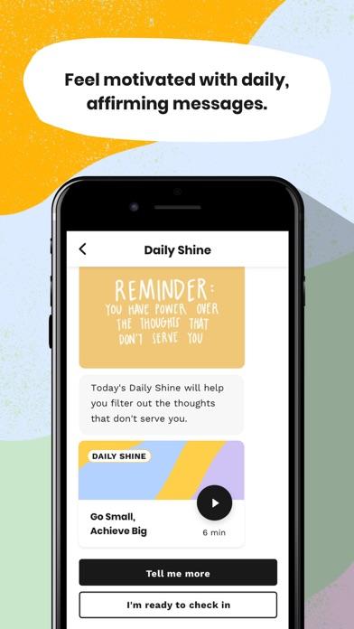 Shine: Calm Anxiety & Stress Screenshot