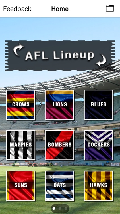 AFL Lineup 2020 screenshot-3