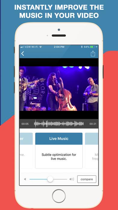 Screenshot #3 pour AudioFix: Pour du son Vidéos