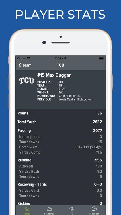 TCU Football Schedules screenshot-3