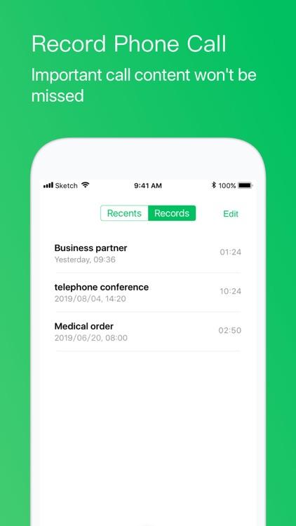 Second Phone Number+ Call App screenshot-4