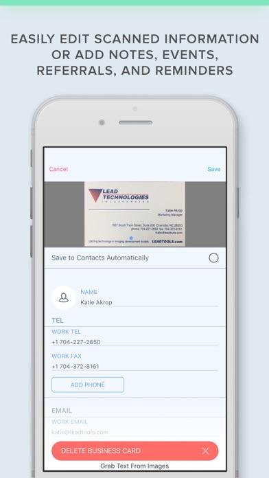 Business Card Scanner with OCRScreenshot of 6