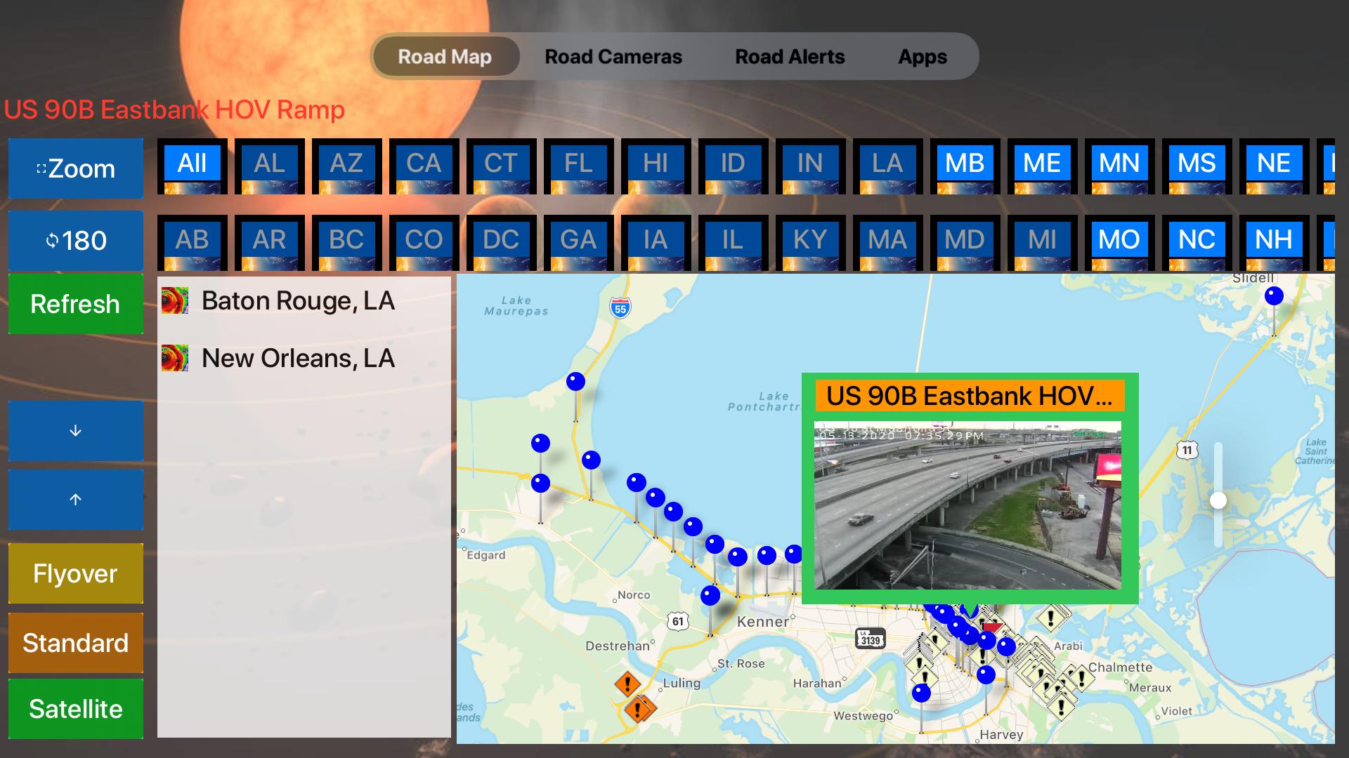 Road Conditions Lite screenshot 19