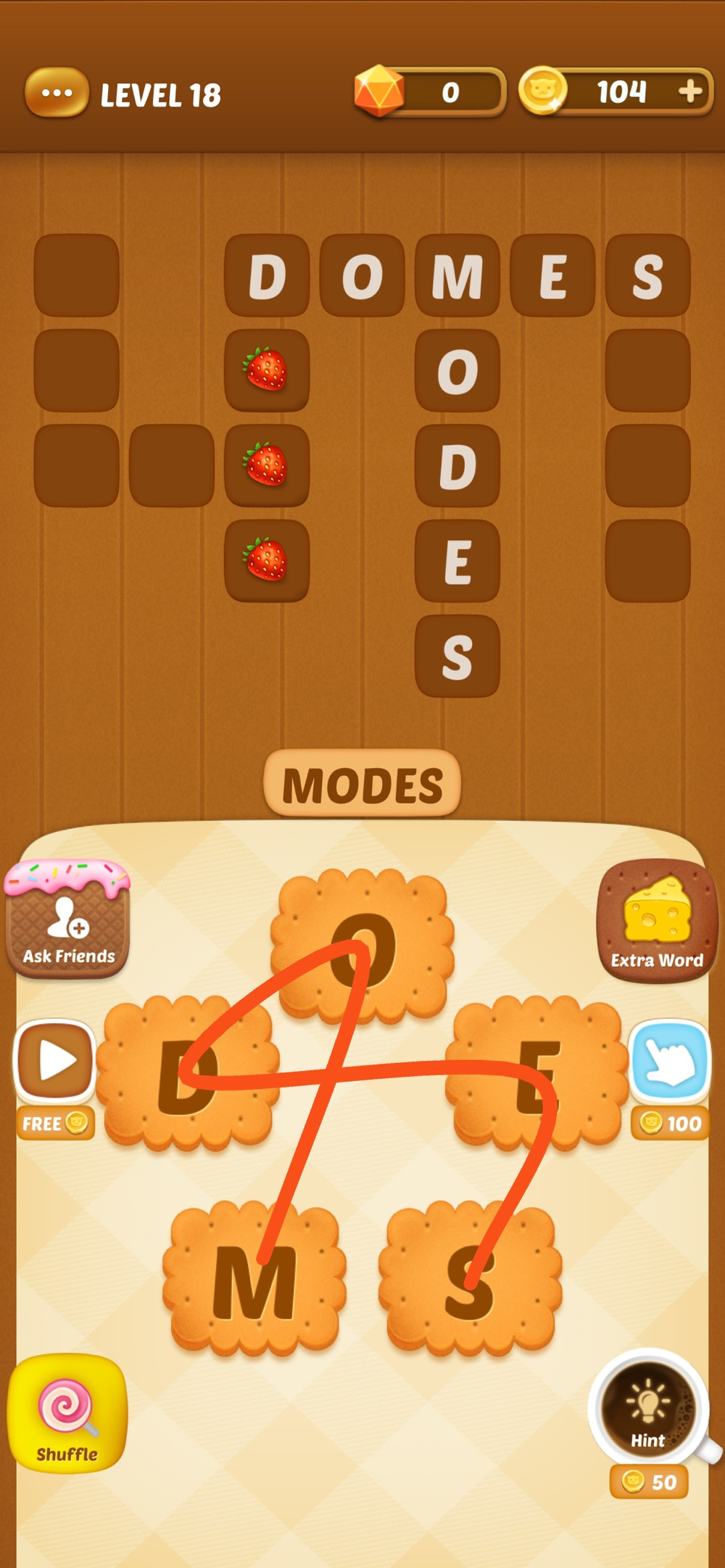 Word Connect Cookies Cheat Codes