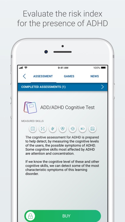 ADHD Test and Training