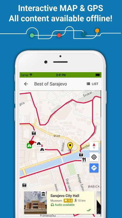 Guide2 Sarajevo - Audio Guide screenshot-3