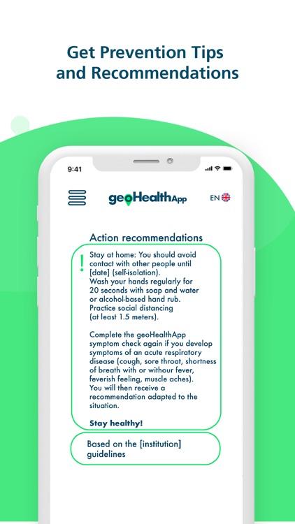 geoHealthApp Covid19 Tracker screenshot-4