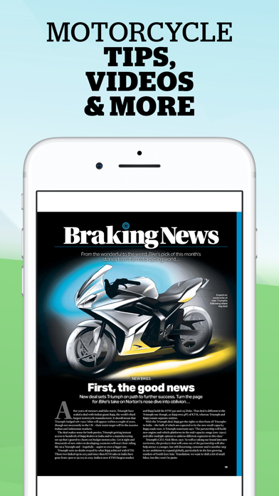 Bike - Motorbike News Magazine Screenshot