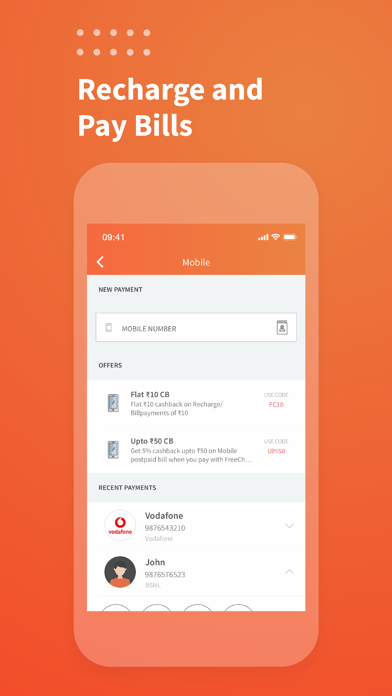 Freecharge - Payments & Wallet screenshot two