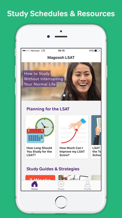 LSAT Prep from Magoosh