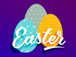 Celebrate Happy Easter with these beautiful interactive stickers