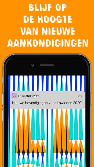Lowlands Festival 2020 iPhone app afbeelding 2