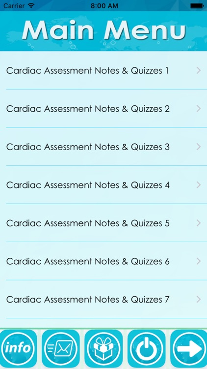 Cardiac Assessment Exam Review screenshot-0