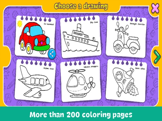 Coloring & Learn : Drawing screenshot 7