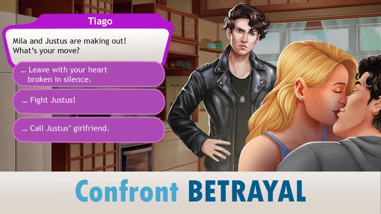 My Love & Dating Story Choices screenshot-3
