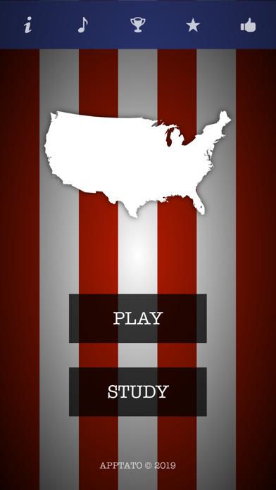 US States Test screenshot one