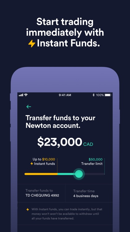Newton - No-fee Crypto Trading screenshot-3