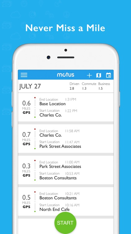 Motus - Business Mileage Log screenshot-3