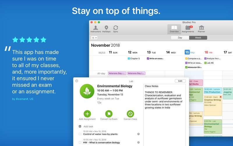 iStudiez Pro Screenshot