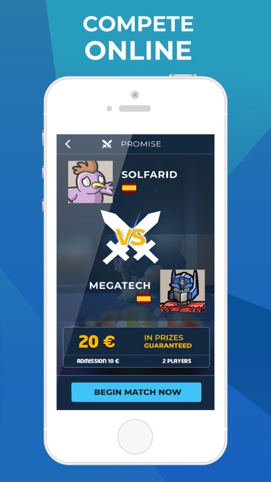 Real Pool: Mobile Money eSport screenshot 3