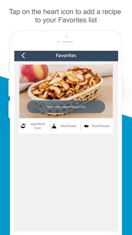 Snack & Dessert Recipes screenshot-3