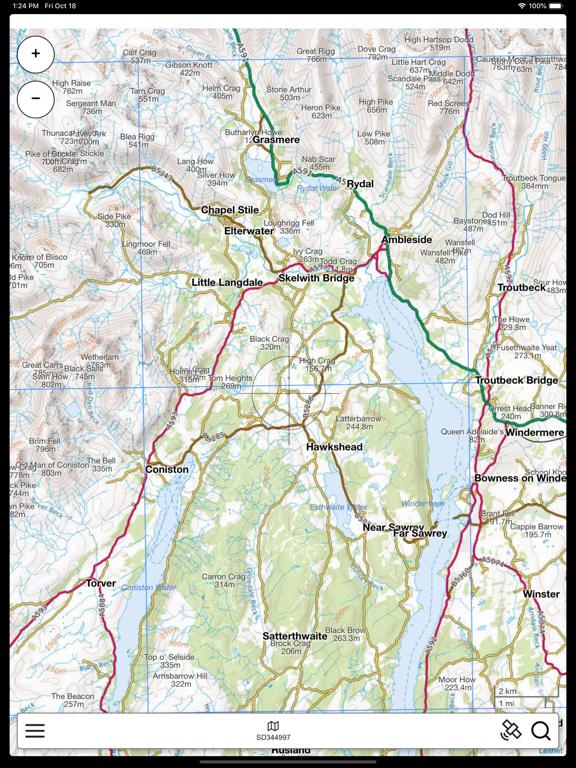 Lake District Outdoor Map PRO screenshot 6
