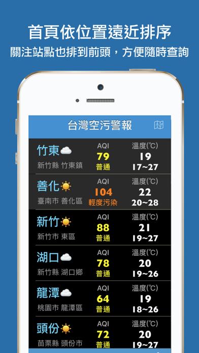 台灣空污警報のおすすめ画像2
