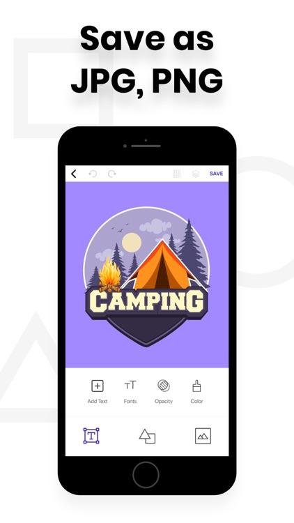 Logo Maker - Design Logos screenshot-3