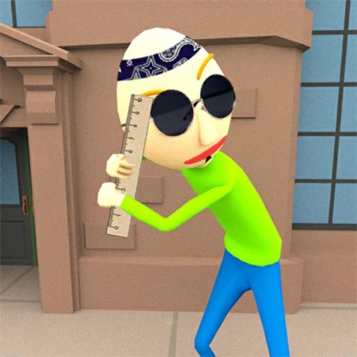 Балди Stickman Crime история