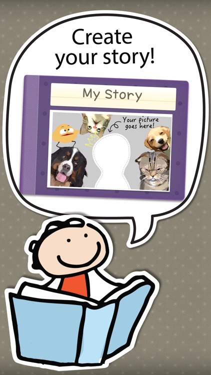 Kid in Story Book Maker screenshot-0