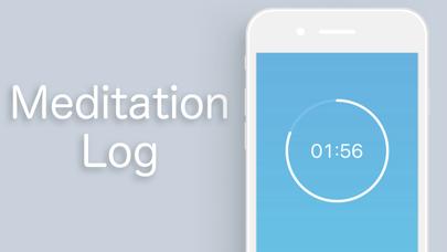 Meditation Log screenshot one