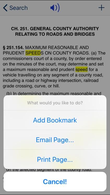 TX Transportation Code 2020 screenshot-3