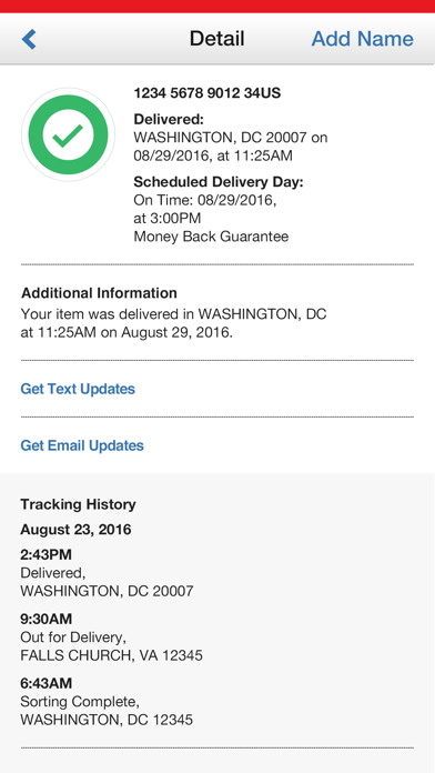 Usps Mobile review screenshots