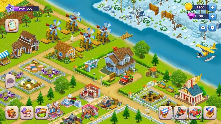 Golden Farm: Fun Farming Game screenshot-4
