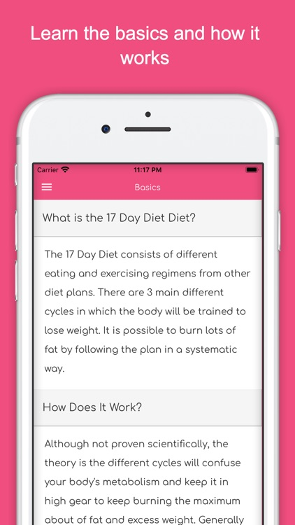 17 Day Diet Guide