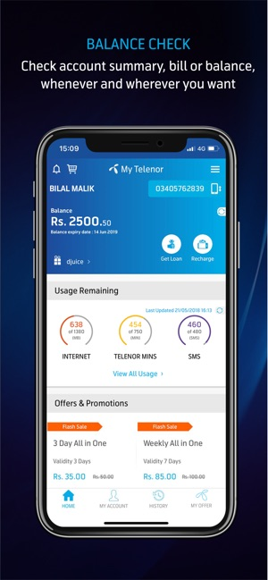 My Telenor on the App Store