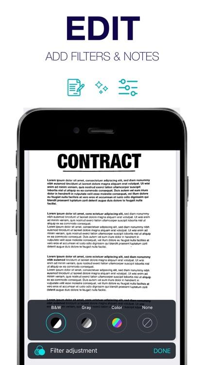 Scanner App ∙ Scan & Sign PDF screenshot-5