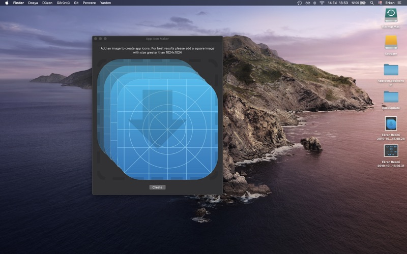 AppIcon Maker(xcAsset Creator) for Mac