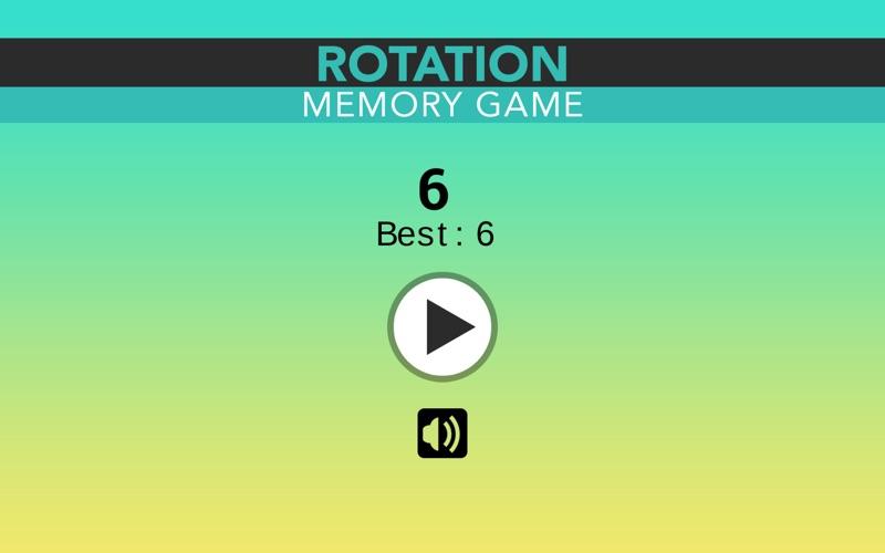 Rotation Memory Game for Mac