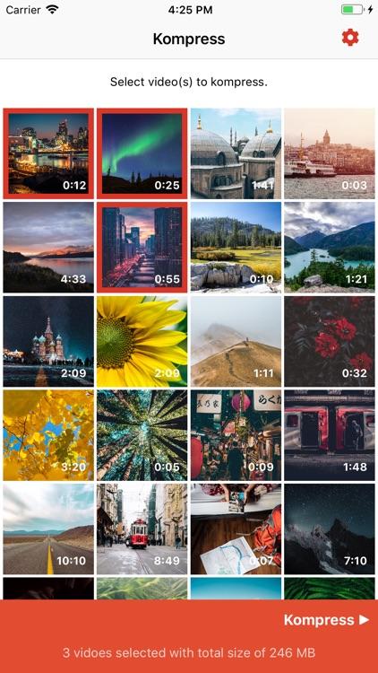 Kompress - Video compression