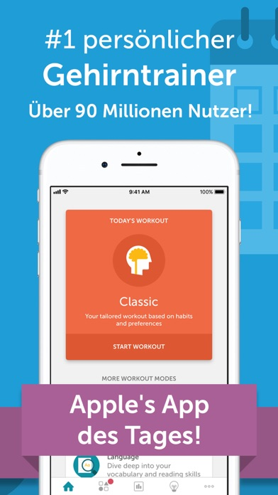 Screenshot for Lumosity Tägliche Gehirnspiele in Austria App Store